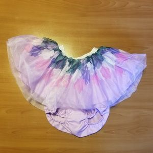 Gymboree Purple Tulle Flower Ombre Stretch Tutu